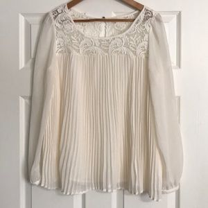 Sundance Guinevere Pleated Blouse